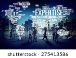 expertise career job profession ... | Shutterstock . vector #275413586