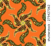vector seamless ethnic pattern. ... | Shutterstock .eps vector #275427362