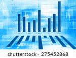 economical graph  | Shutterstock . vector #275452868
