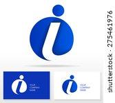 letter i logo icon design... | Shutterstock .eps vector #275461976