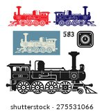 Locomotive  Vector Illustration
