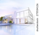 3d rendering of a luxurious... | Shutterstock . vector #275534126