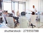 business meeting in a modern... | Shutterstock . vector #275553788