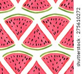 seamless pattern with... | Shutterstock .eps vector #275610272