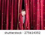 cute little boy wearing... | Shutterstock . vector #275614352