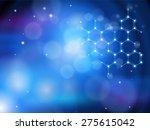 blue technology background  ... | Shutterstock .eps vector #275615042