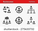 businessmen icons. professional ... | Shutterstock .eps vector #275633732