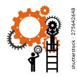 technical support design ... | Shutterstock .eps vector #275642648