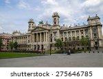 museum of ethnography in... | Shutterstock . vector #275646785