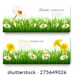 beautiful nature banners with... | Shutterstock .eps vector #275649026