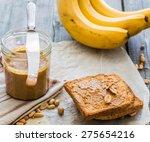 Crispy Toast With Peanut Butte...