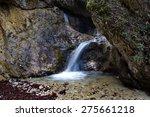waterfall  mala fatra national... | Shutterstock . vector #275661218