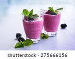 Delicious Blackberry Smoothie...