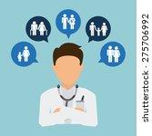 medical insurance design ... | Shutterstock .eps vector #275706992