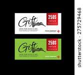 gift voucher premier color | Shutterstock .eps vector #275729468