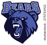 bear head mascot   Shutterstock .eps vector #275731922
