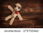 cute little voodoo doll | Shutterstock . vector #275732462