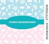 church backgrounds | Shutterstock .eps vector #275743646