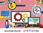 digital device computer... | Shutterstock . vector #275773736