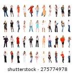 corporate culture people... | Shutterstock . vector #275774978
