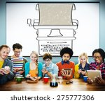 typewriter typography... | Shutterstock . vector #275777306