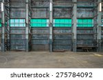 Corrugated Iron Wall In A...