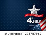 independence day 4 th july.... | Shutterstock .eps vector #275787962