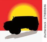 off road vehicle. vector...   Shutterstock .eps vector #275800646