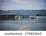 boat dock | Shutterstock . vector #275823665