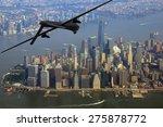 Surveillance Drone On Patrol...