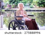 grand   grandmother with her... | Shutterstock . vector #275888996