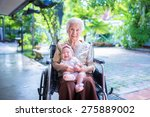 grand   grandmother with her... | Shutterstock . vector #275889002