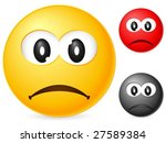 emoticon isolated on white... | Shutterstock .eps vector #27589384