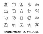holiday vector icons   vol 1 | Shutterstock .eps vector #275910056