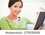 head and shoulders portrait of... | Shutterstock . vector #275920058