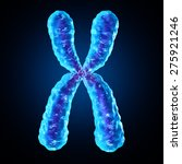 chromosome as a concept for a... | Shutterstock . vector #275921246