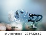 concept of the global healthcare | Shutterstock . vector #275922662