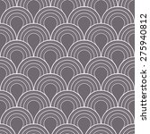 seamless inverse black and... | Shutterstock . vector #275940812