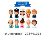 professions vector flat set of... | Shutterstock .eps vector #275941316