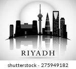 modern riyadh city skyline... | Shutterstock .eps vector #275949182