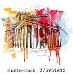 pantheon | Shutterstock .eps vector #275951612