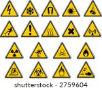 safety signs for your vector... | Shutterstock .eps vector #2759604