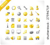 New Set Of 36 Glossy Web Icons...