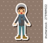 boy man cartoon   cartoon... | Shutterstock . vector #275989022