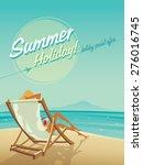 summer holiday | Shutterstock .eps vector #276016745