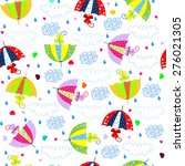 seamless background with... | Shutterstock . vector #276021305