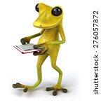 fun frog   Shutterstock . vector #276057872