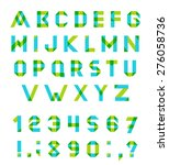 vector alphabet set fun... | Shutterstock .eps vector #276058736