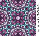 seamless pattern. vintage... | Shutterstock .eps vector #276081626