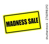 Madness Sale Back Stamp Text On ...